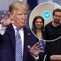 USA : Je suis Gadde Vijaya, la directrice juridique de Twitter. J'ai personnellement décidé que le Twitter du président Trump devait être coupé.