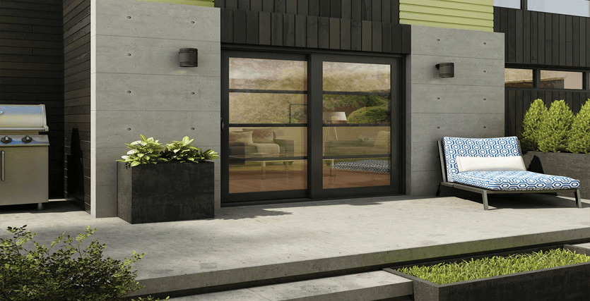 Modern Sliding Patio Doors, Triple Pane Patio Doors, Sliding Patio Door Repair