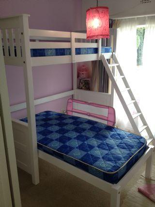 Loft Bed with Divan In L shape