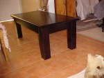 Coffee Table Large 1200 x 600 Large Square Legs