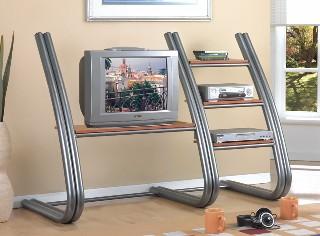Monza Metal TV Stand