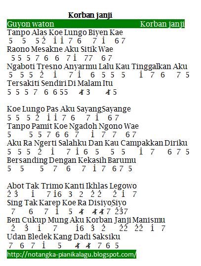 Guyon Waton Korban Janji Chord : guyon, waton, korban, janji, chord, Chord, Korban, Janji, Qafasr