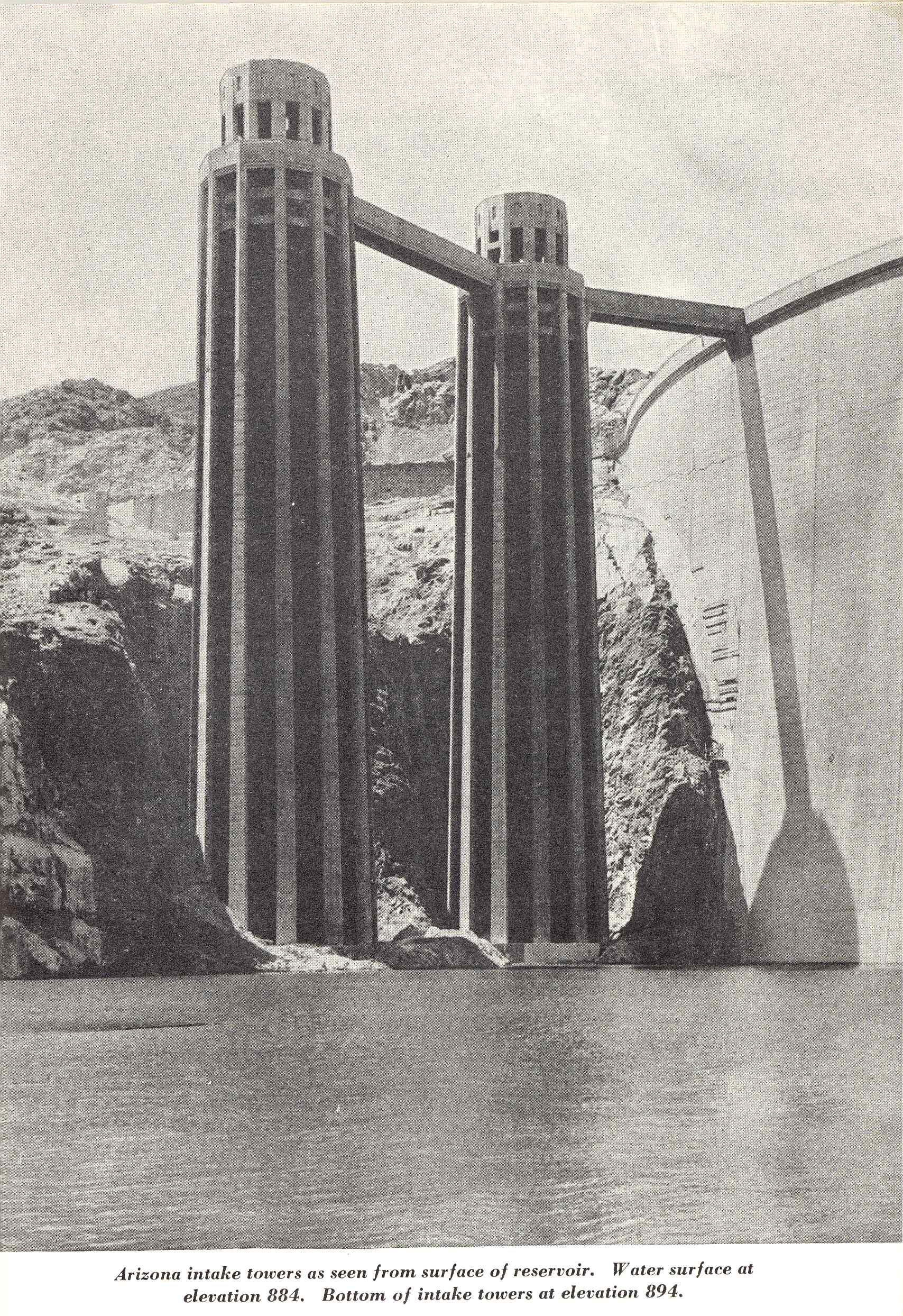 hight resolution of hoover dam project