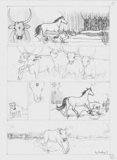 Qalo et Lolotte en Camargue épisode 3 - La bande dessinée by Audrey S