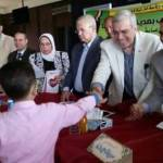 عجلان يكرم أوائل الشهادات العامة بإدارة بنها
