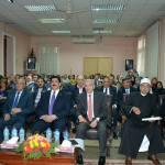 محافظ القليوبية يشهد حفل تكريم أسر الشهداء بمدرسة السلام الخاصة ببنها