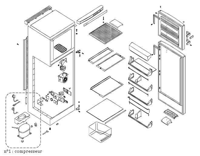 Composition d'un réfrigérateur…