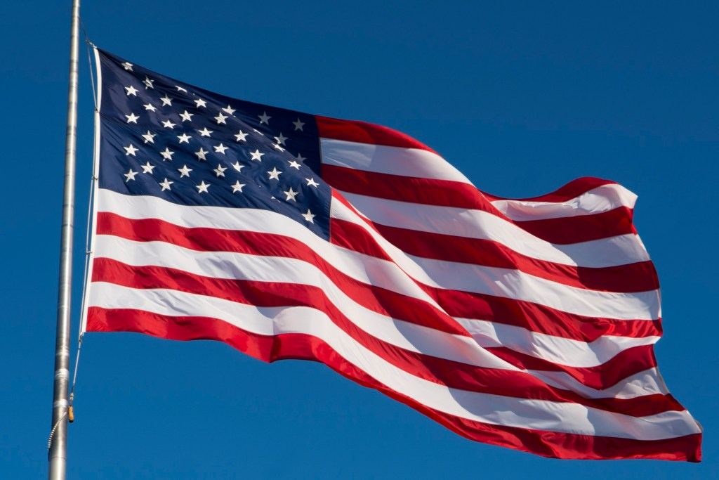 US Flag - Flag of the United States of America