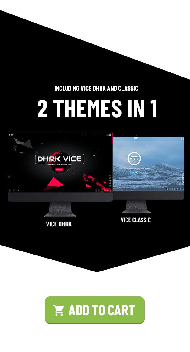 Vice: Underground Music Elementor WordPress Theme - 3