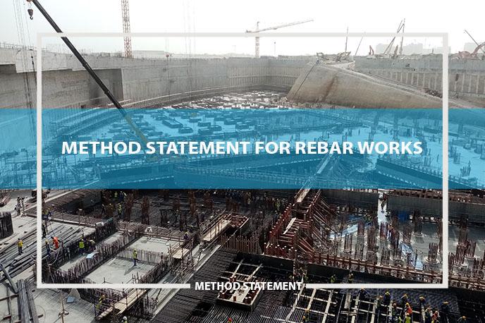 method statement rebar works