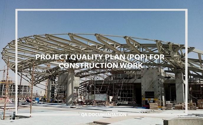 construction project quality plan (PQP)