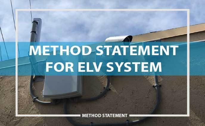 method statement elv system