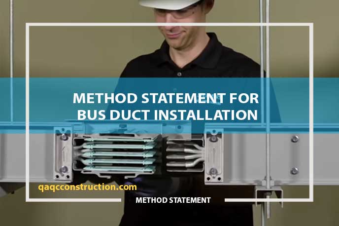method-statement-for-bus-duct-installation