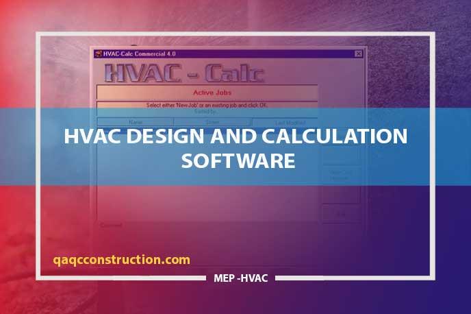 free software HVAC design and calculation software