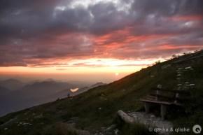 alpine bench