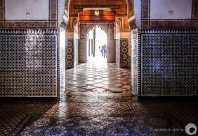 zellij tiled palace