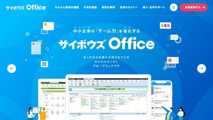 サイボウズOffice トップページ