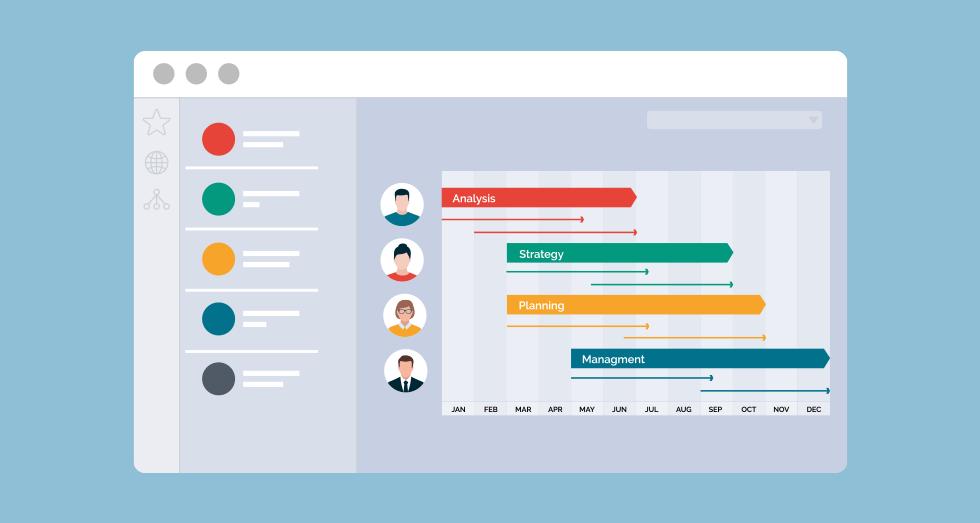 グループウェアの機能、スケジュール管理で無駄な作業の発生を防ぐことができ、業務の効率化が見込めます。