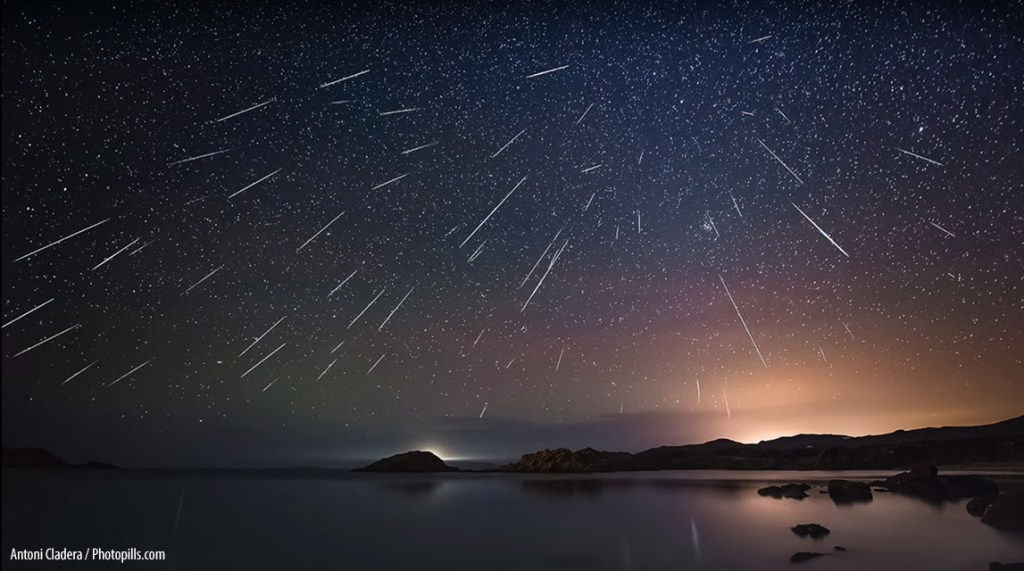 geminid meteor shower 2018