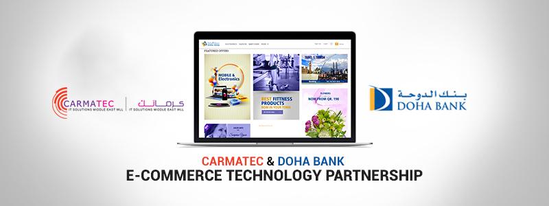 Carmatec Enters E Commerce Technical Partnership With Doha Bank Carmatec Qatar Wll Web Design Qatar