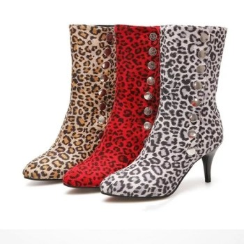 Leopard Printed Shoes Women s Snow Boots High Heeled Button Ankle Boots Leather High Heels Sexy.jpg 640x640