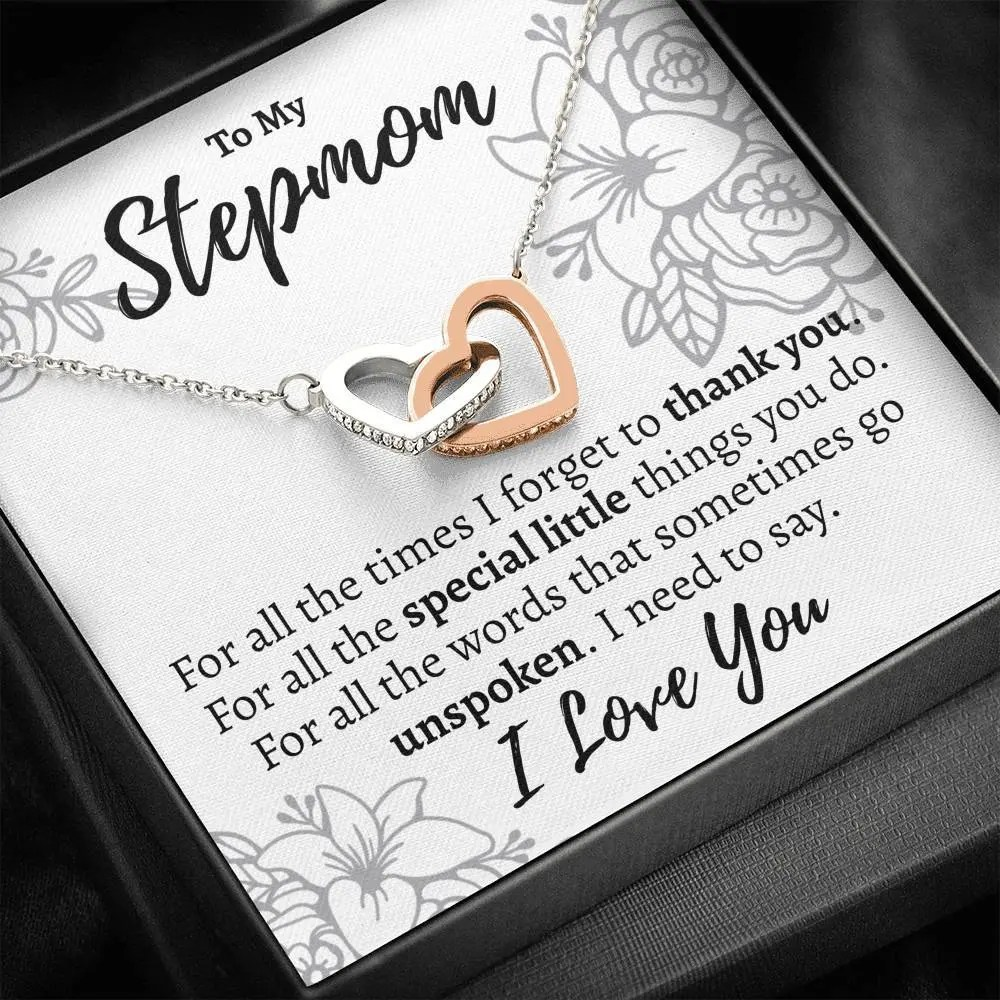 stepmom for all the interlocking hearts necklace 608677