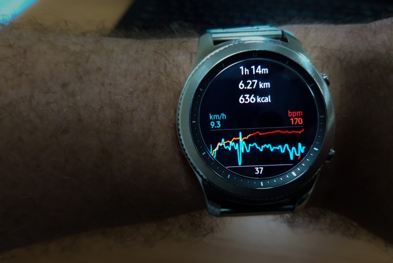 Galaxy S3 Fitness Watch