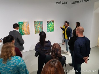 German Encounters art Exhibition at The Fire Station Qatar
