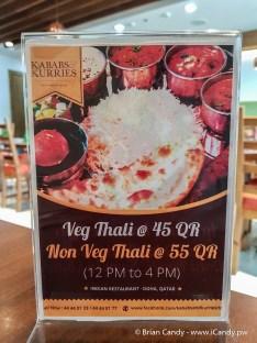 Veg & Non Veg Thali offer