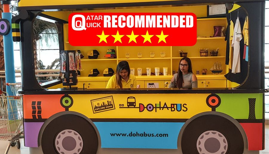 Tour Qatar the easy way – Doha Hop On Hop Off Bus