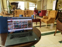 The Sapphire Plaza Hotel has free WiFi throughout