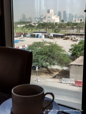 Saraya Corniche East West Restaurant Breakfast View