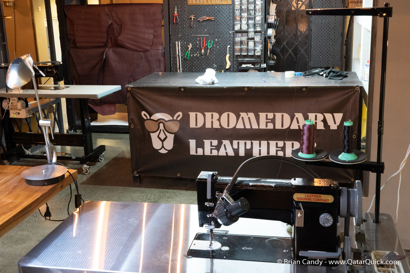 Dromedary Leather