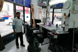 Inside of Salon