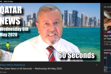 The Qatar News in 60 Seconds – Wednesday 6th May 2020