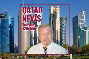 The Qatar News in a bit more than 60 Seconds – Tuesday 12th May 2020
