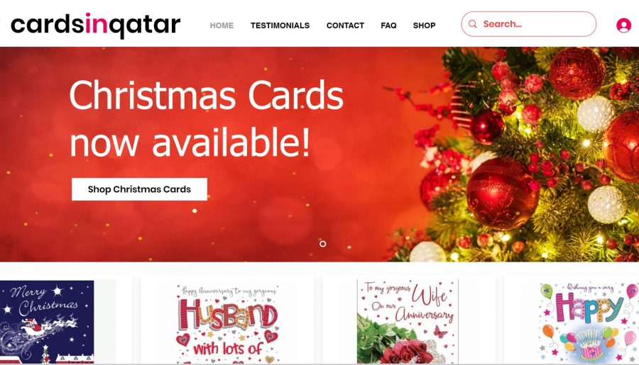 Christmas Cards in Qatar