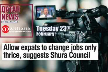 Allow expats to change jobs only thrice