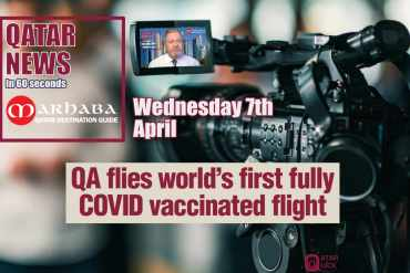 QA flies world's first fully COVID vaccinated flight