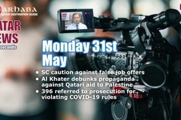 Qatar News in 60 Seconds 31/05/21 S02E42