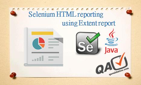 Selenium HTML result reporting using ExtentReports 2 X