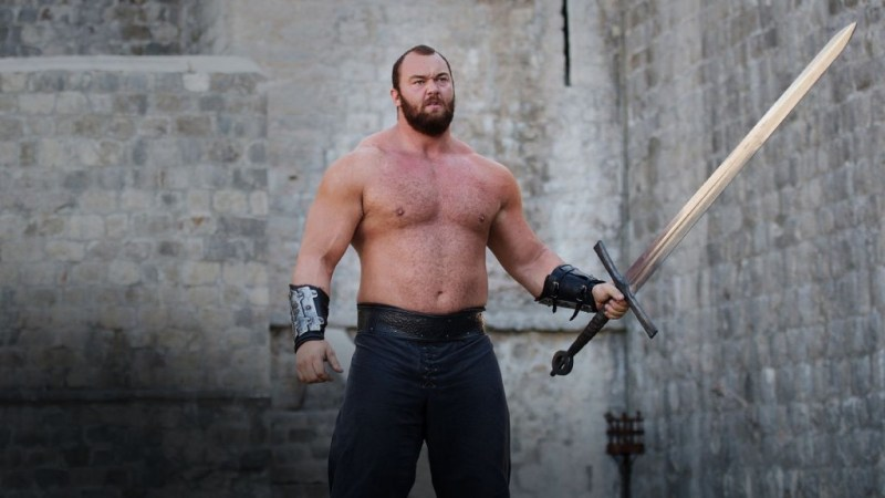 Hafþór Júlíus Björnsson als The Mountain in Game of Thrones