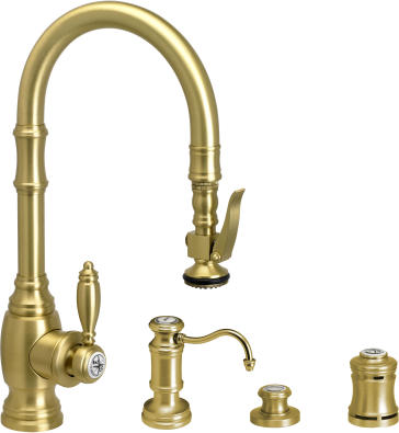 Waterstone 52004 Kitchen Faucet With Soap Dispenser Air