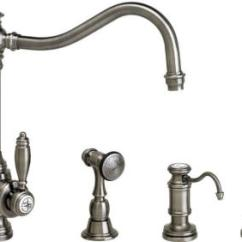 Waterstone Annapolis Kitchen Faucet Island With Stools 4200-3 Suite Side ...