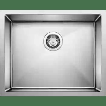 precision 22 single undermount bowl