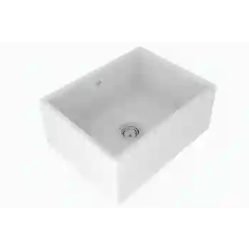 24 kitchen sink bath and stores rohl ms2418 shaws classic fireclay qualitybath com image 1
