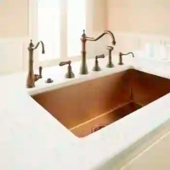 Rohl Kitchen Faucet Stainless Steel Sink With Drainboard U 4775 4776 Edwardian 4 Hole Sidespray Faucets Image 2