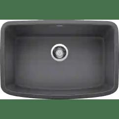 27 Kitchen Sink Oxo Utensils Blanco 442552 Valea Qualitybath Com W X 18 L