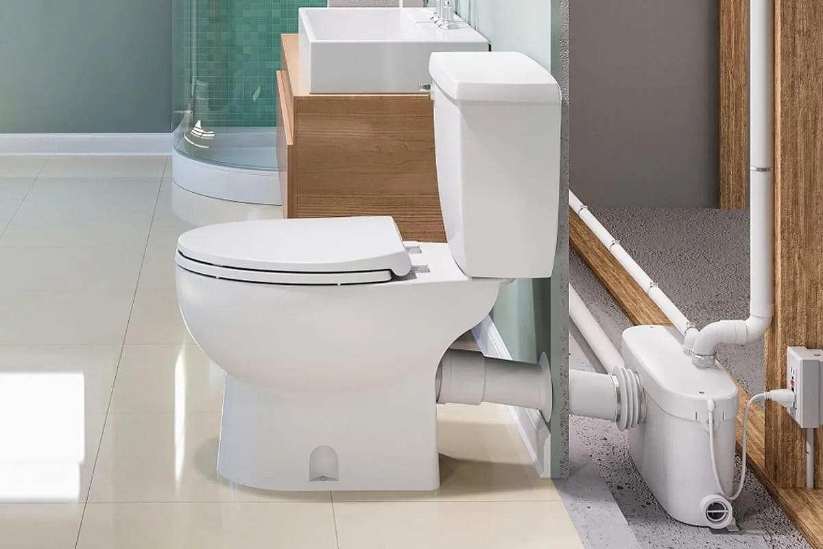 How Do Saniflo Up Flush Toilets Work Qualitybath Com Discover