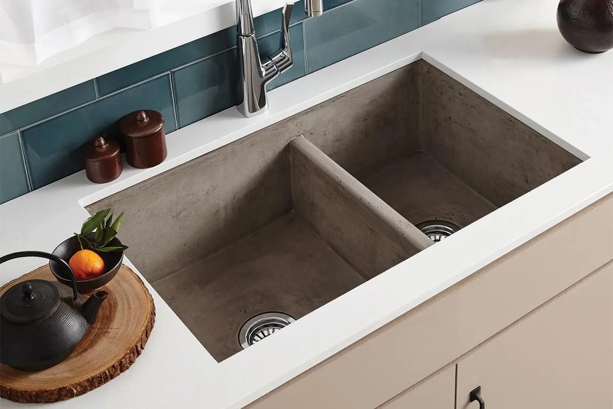 stone kitchen sink counter decorating ideas specialty sinks everything you need to know qualitybath